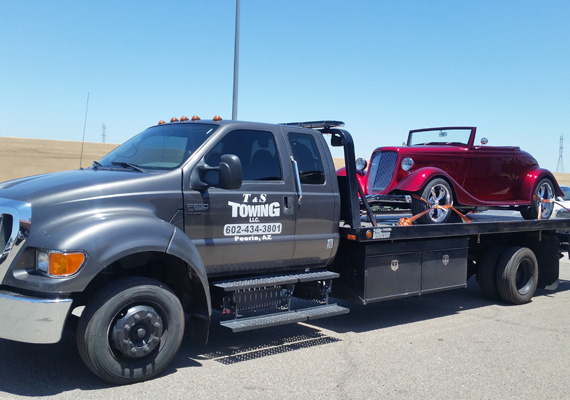 Full Range of Towing Services